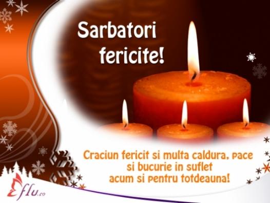 Felicitare - Sarbatori Fericite! - Felicitari Craciun - Felicitari.flu.ro