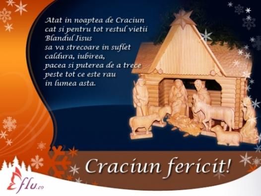 Felicitare - Noapte de Craciun - Felicitari Craciun - Felicitari.flu.ro