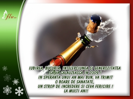 Felicitare - In speranta unui an mai bun - Felicitari Anul Nou - Felicitari.flu.ro