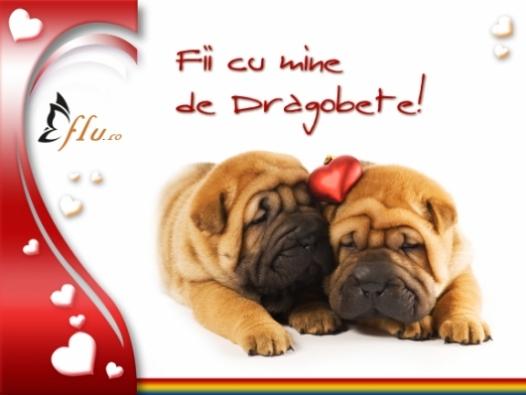 Felicitare - Fii cu mine! - Felicitari Dragobete - Felicitari.flu.ro