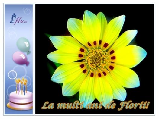 Felicitare - de Florii! - Felicitari Zi Onomastica - Felicitari.flu.ro