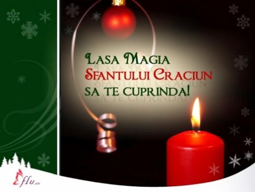 Felicitare - Lumina - Felicitari Craciun - Felicitari.flu.ro