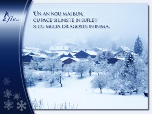 Felicitare - Pace in suflet - Felicitari Anul Nou - Felicitari.flu.ro