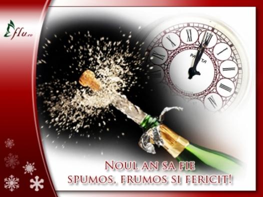 Felicitare - Un an spumos! - Felicitari Anul Nou - Felicitari.flu.ro
