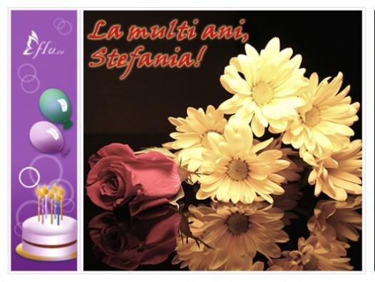 Felicitare - Stefania - Felicitari Zi Onomastica - Felicitari.flu.ro
