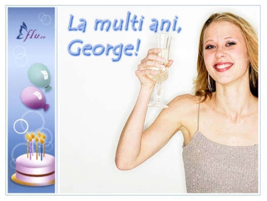 Felicitare - George - Felicitari Zi Onomastica - Felicitari.flu.ro