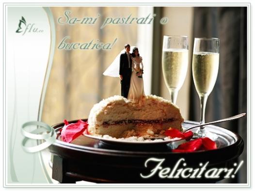 Felicitare - Tort de nunta - Felicitari Nunta - Felicitari.flu.ro