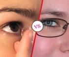 Lentile de contact versus ochelari