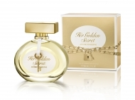 Castiga un parfum HER GOLDEN SECRET EDT 80ML by Antonio Banderas, cadoul perfect pentru Sfantul Ion
