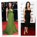 Angelina Jolie - Cum arata celebritatile dupa sarcina!